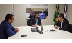 Prefeito Joel Ferreira Consegue Junto a Funasa  3.000.000.00 de Reais Para Obra de Abastecimento de Água Tratada Em Bom Jesus do Araguaia MT